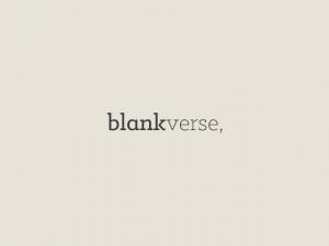 blankverse logo
